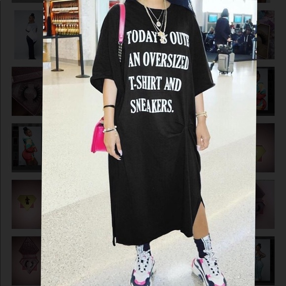 Dresses   Oversized Tshirt   Poshmark